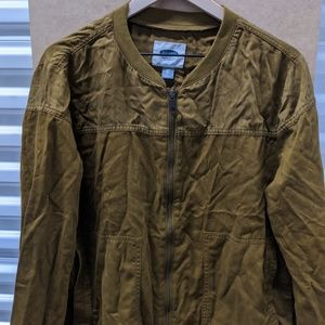 Old Navy Green Bomber Jacket XL